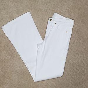 Spanx White 5 Pocket Flare Jeans